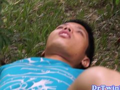 asian-md-gives-outdoor-enema-to-twink